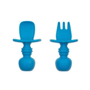 bumkins silicone chewtencils set of 2 in dark blue brandon manitoba