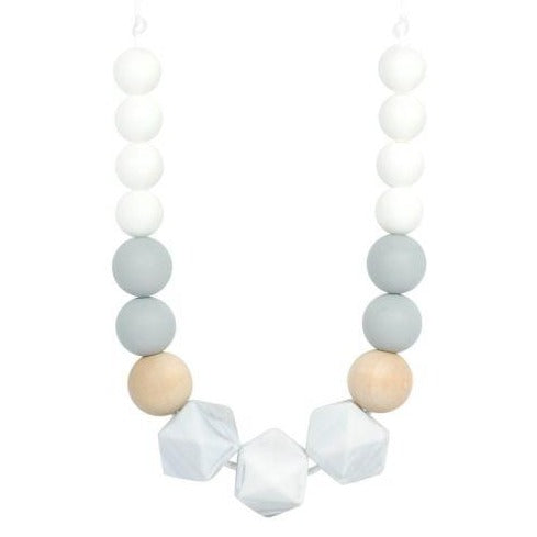 glitter and spice silicone teething necklace wren brandon manitoba