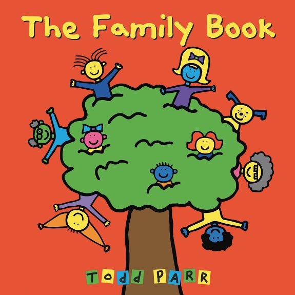 The Family Book by Todd Parr - board book