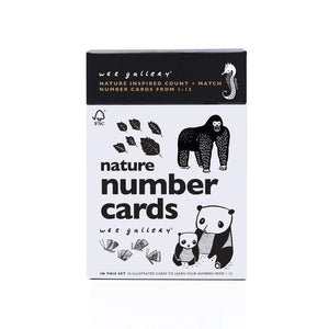 Wee Gallery Nature Number Cards