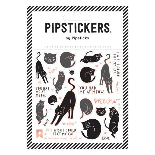 Pipstickers- You had me at Meow