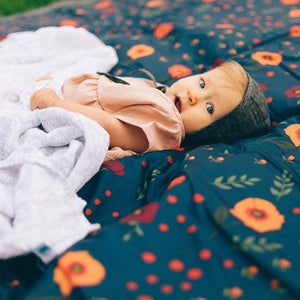 Little Unicorn Outdoor Blanket midnight poppy brandon manitoba