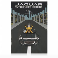 JAGUAR CHILDREN'S STICKER BOOK / ALBUM D'AUTOCOLLANTS POUR ENFANT