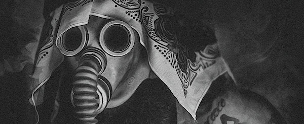 Gas Mask - Art Print