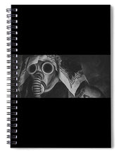 Load image into Gallery viewer, Gas Mask - Spiral Notebook