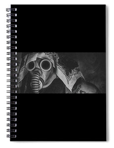Gas Mask - Spiral Notebook
