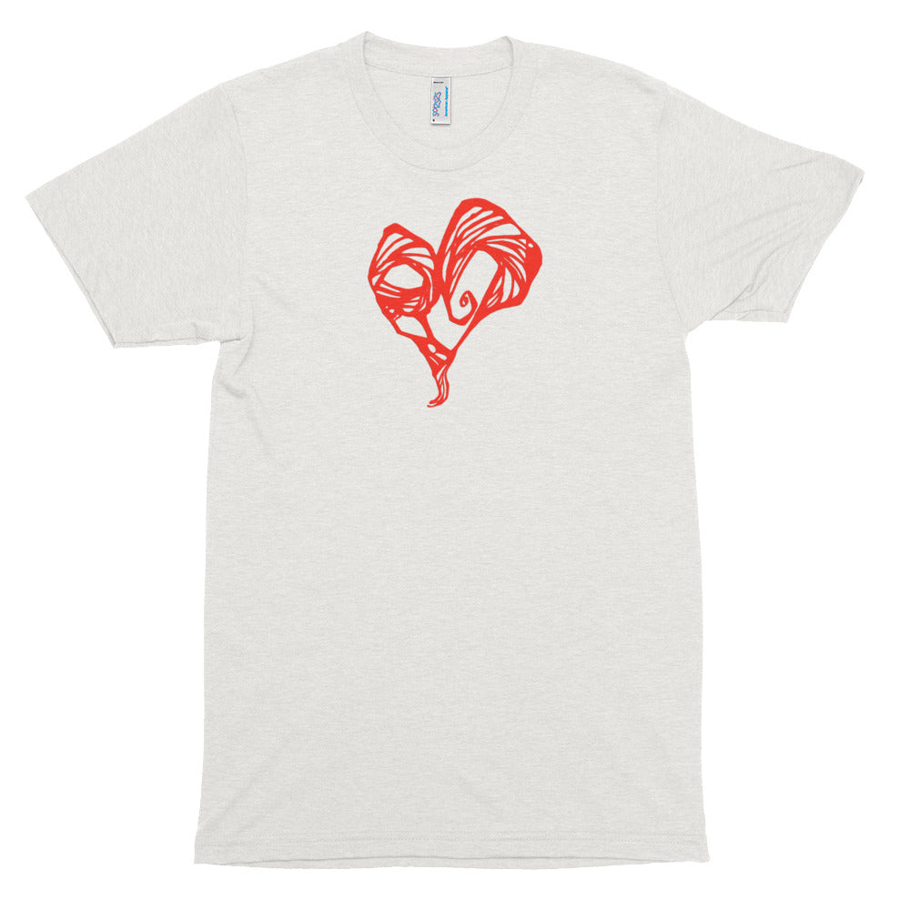 Heart Red soft t-shirt