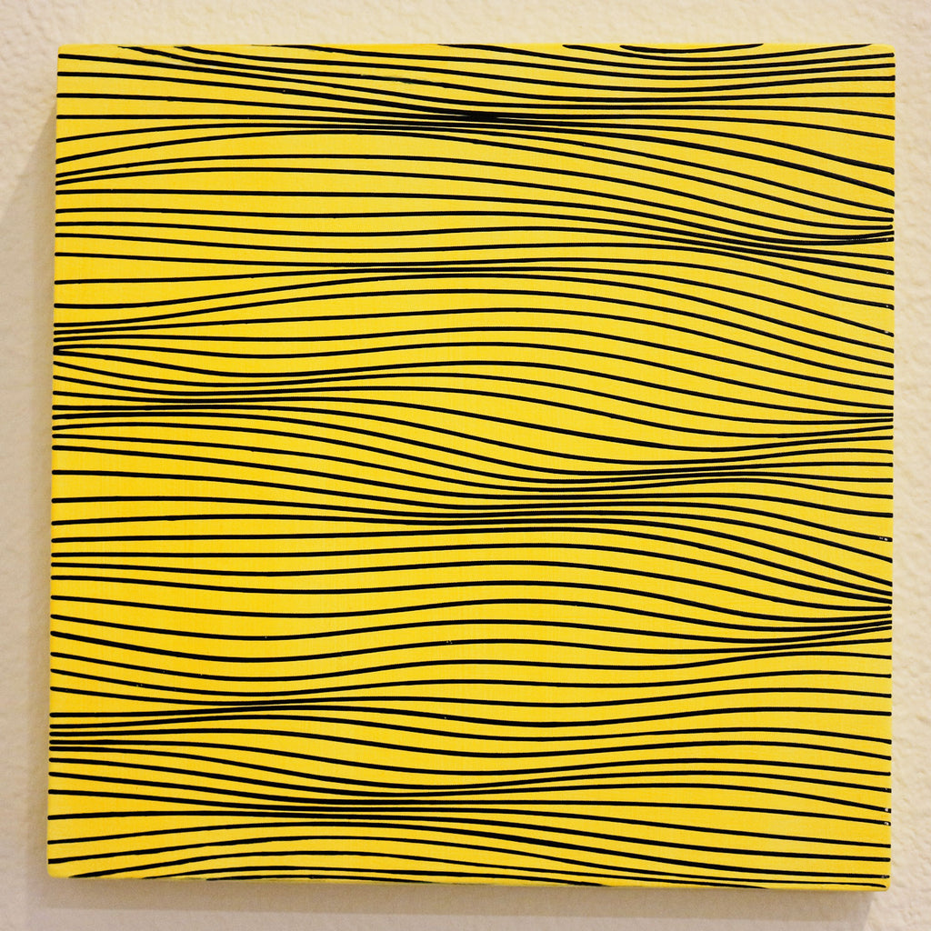 Color Study Black on Yellow