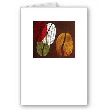 Coffee Beanz Mini Notecard