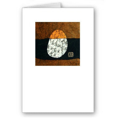 Q Orange Mini Notecard