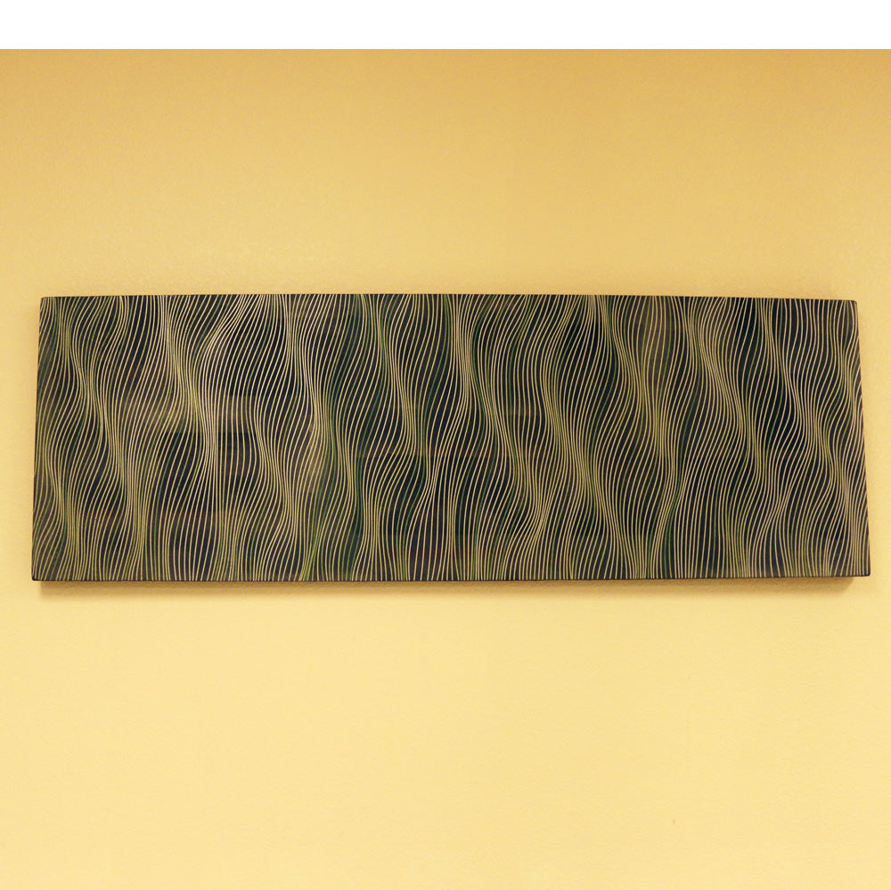 Meditation in Green 20 x 60 inches