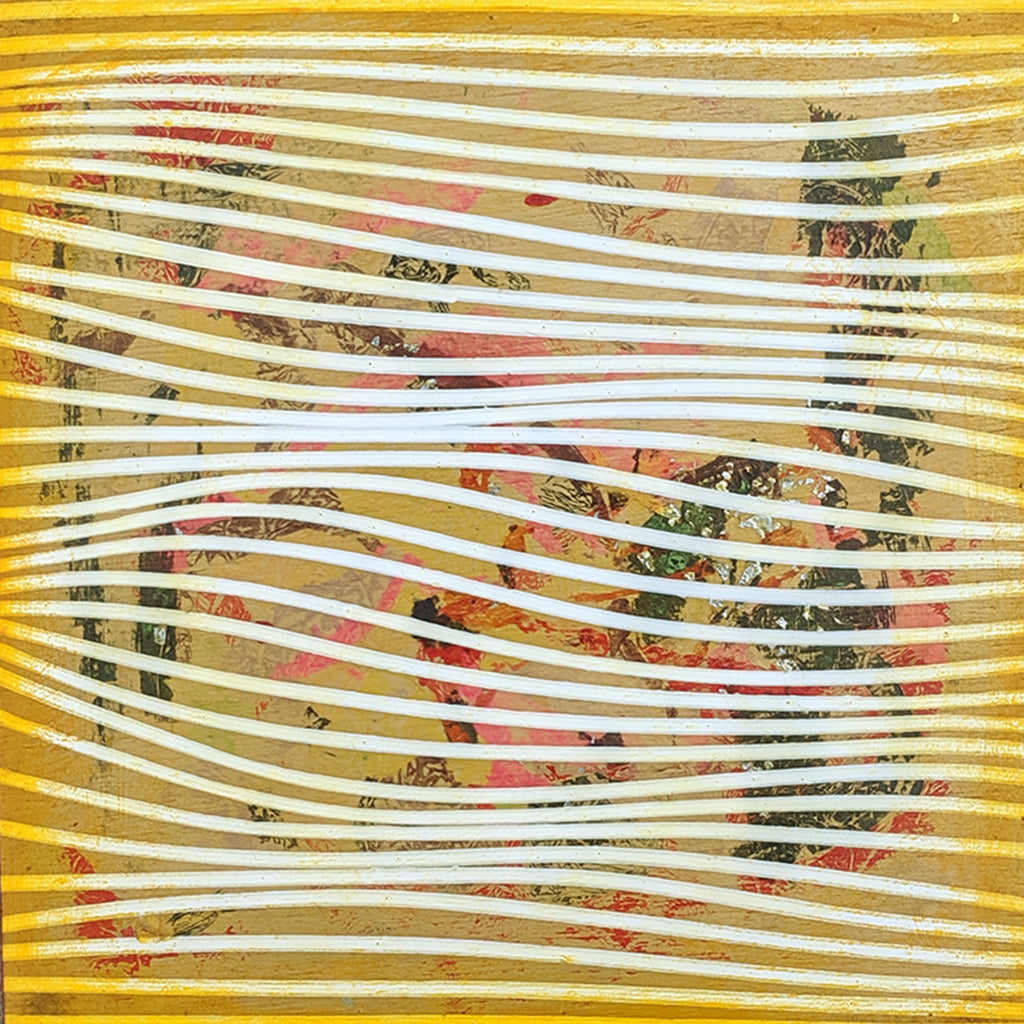 Yellow Tarnish 9x9