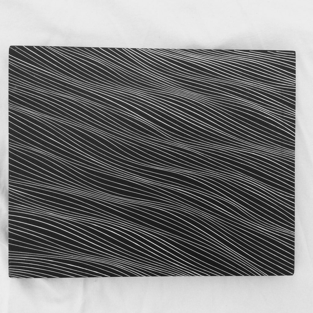 Black and white 8x10 wood