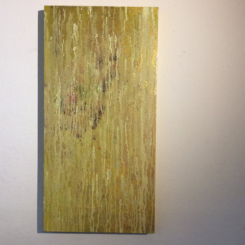 Rain in Yellow 15 x 30