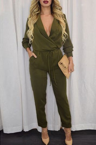 Army Green Sleeve Jumper