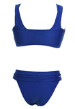 Royalblue Sexy False Low Rise Bikini - Unmarked Style Clothing Store