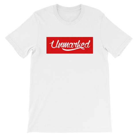Unmarked Red Background T-Shirt - Unmarked Style Clothing Store