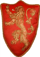 Con Couture Lannister Sigil Pillow