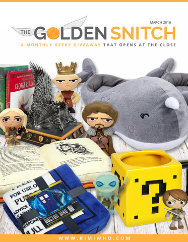 The Golden Snitch Giveaway March 2016