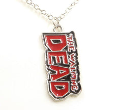 Con Couture Walking Dead Comic Book Title Necklace