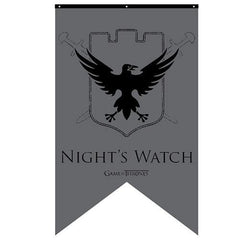 Con Couture Game of Thrones Night's Watch Banner