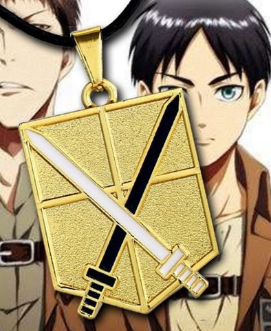 Attack on Titan Trainee Swords Necklace