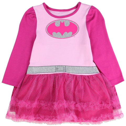Batgirl Girls Infant Tutu Dress with Cape