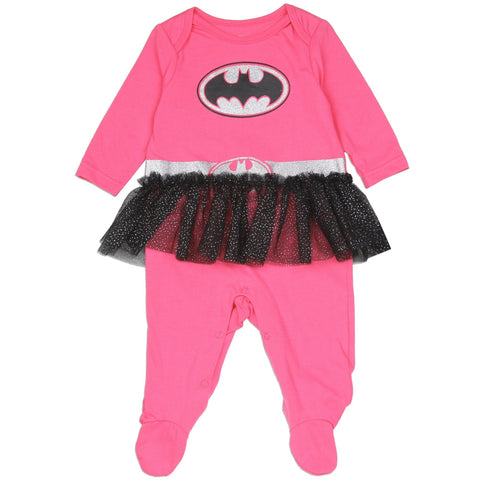 Batman Girls Newborn Costume Sleeper
