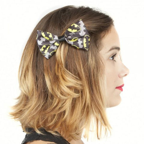 Batman Hair Bow