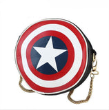 Captain America Round Shield Purse