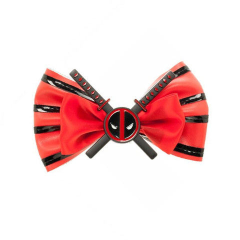 Deadpool Hair Bow