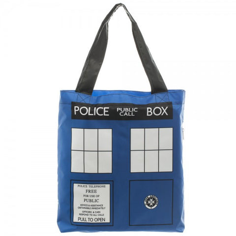Doctor Who Tardis Packable Tote