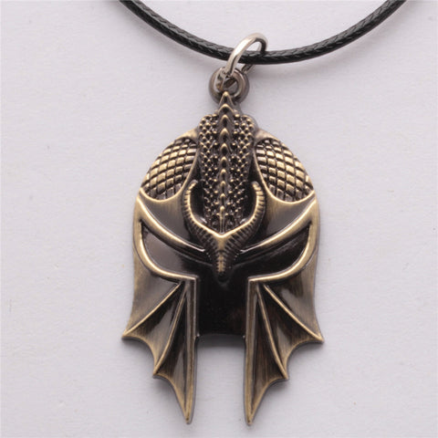 Dragon Age Helmet Necklace