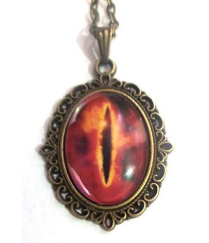 Lord of the Rings Eye of Sauron Necklace