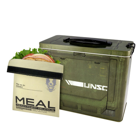 Halo Box Lunchbox with Sandwich Bag