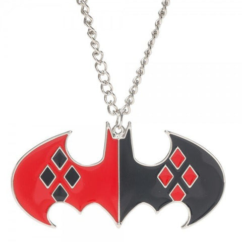 Harley Quinn Batman Necklace