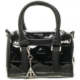 Harry Potter Deathly Hallows Satchel Purse with Charm