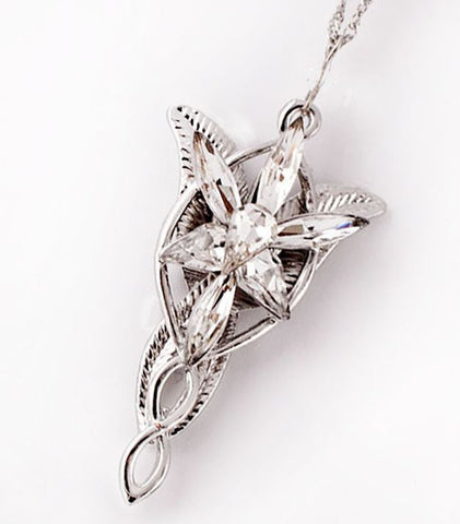 Lord of the rings arwen evenstar necklace con couture lord of the rings arwen evenstar necklace aloadofball Images