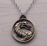 Mortal Kombat Dragon Necklace
