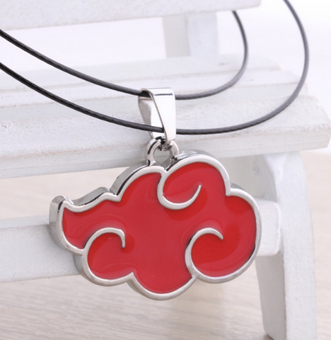 Naruto Akutski Red Cloud Necklace