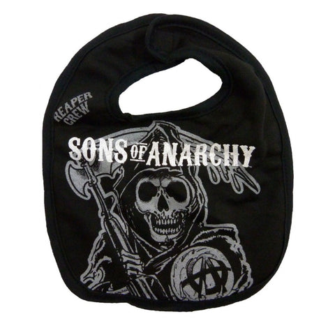 Sons of Anarchy Reaper Baby Bib  sc 1 st  Con Couture & Con Couture Sons of Anarchy Reaper Baby Bib