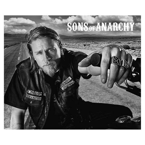 Con Couture Sons of Anarchy SONS Ring Pair