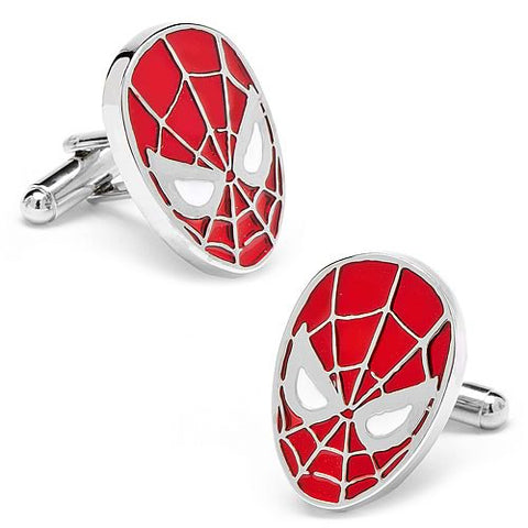 Spiderman Red Mask Cufflinks