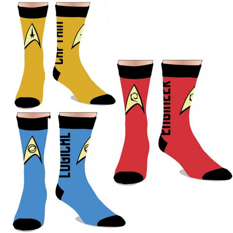Star Trek Crew Socks