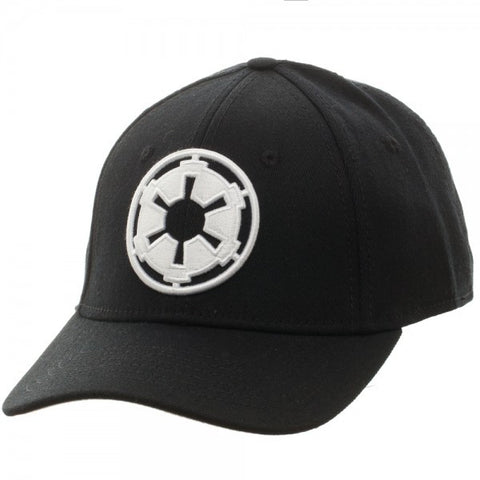 Star Wars Imperial Logo Black Flex Cap
