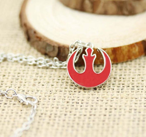 Star Wars Rebel Symbol Necklace