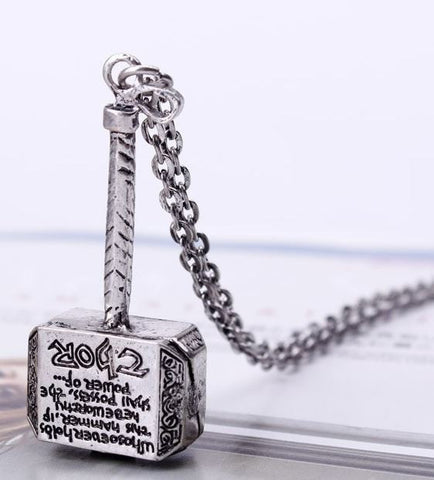 Thor Hammer Mjolnir Necklace
