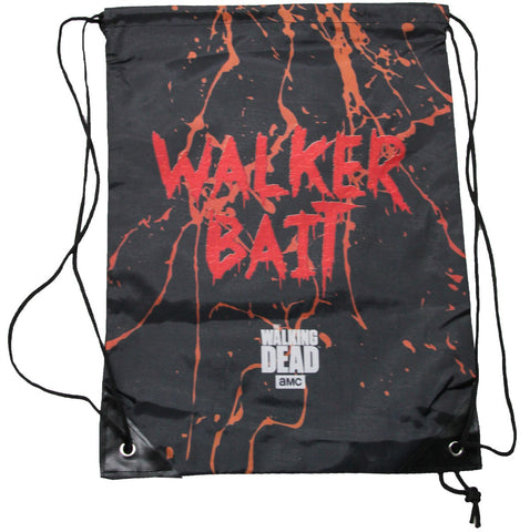 The Walking Dead Walker Bait Cinch Bag