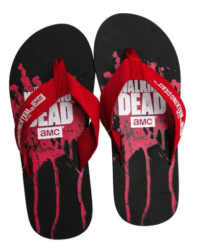 The Walking Dead Bloody Flip Flops - Men