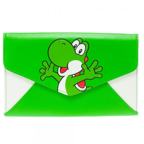 Nintendo Yoshi Envelope Purse with Chain